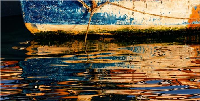 Dawn Harbour Colours - Canvas Print