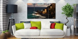 Botallack in the Sunshine - 3 Panel Canvas on Wall