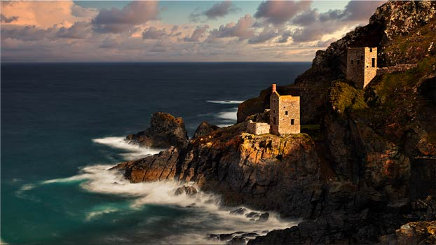 Botallack in the Sunshine - Cornwall Canvas
