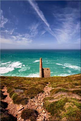 St Agnes Mine Cornwall - Cornwall Canvas