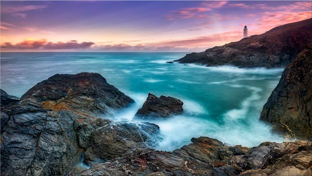 Stinking Cove - Cornwall Canvas