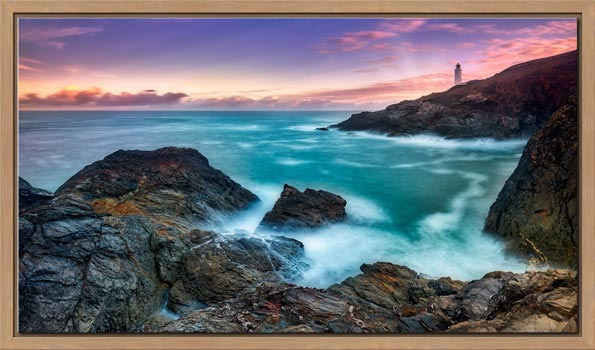 Stinking Cove Trevose Head Sunrise - Modern Print