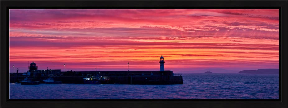 Approaching Dawn Over St Ives - Modern Print