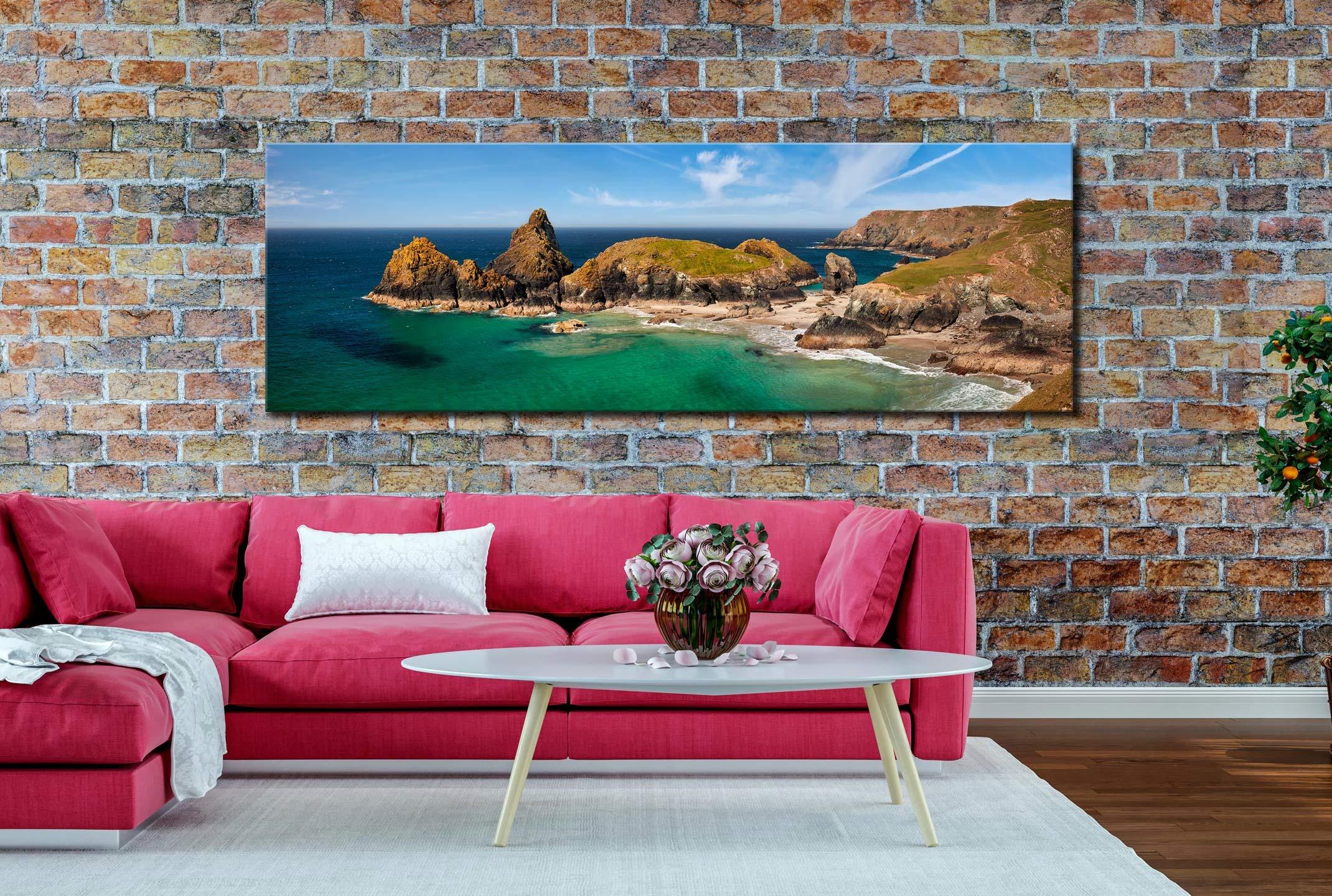 Asparagus Island Kynance Cove Canvas on Wall