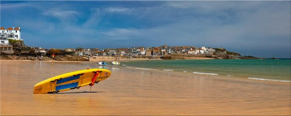 Lifeguard Porthminster Beach - Canvas Print