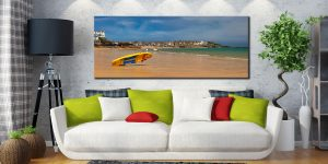 Lifeguard Porthminster Beach - Canvas Print on Wall