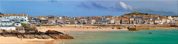 St Ives Seafront - Canvas Print