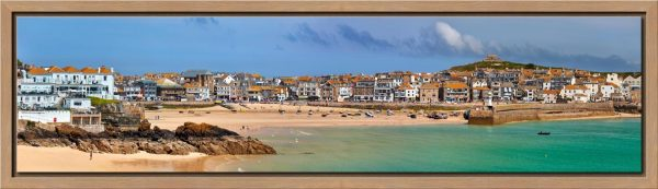 St Ives Seafront - Modern Print