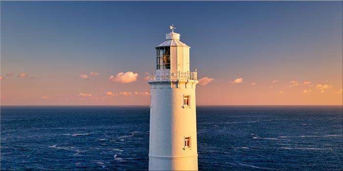 Trevose Head Lighthouse - Canvas Print