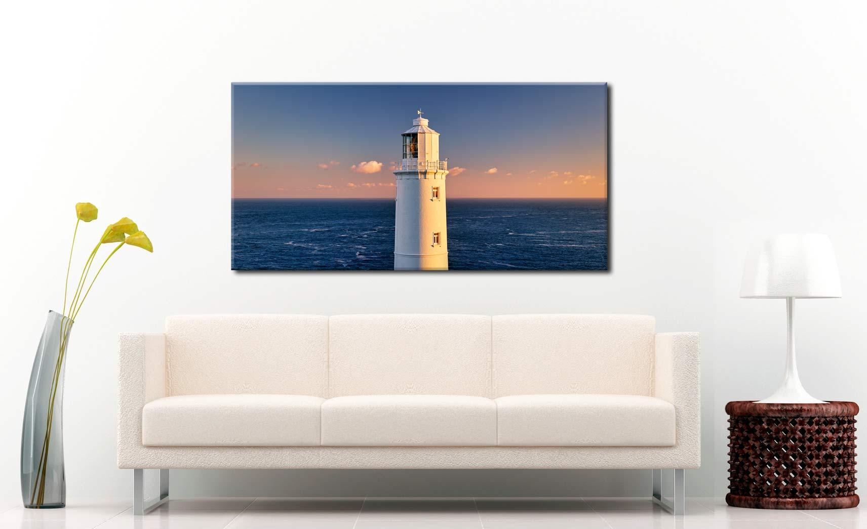 Trevose Head Lighthouse - Canvas Print on Wall