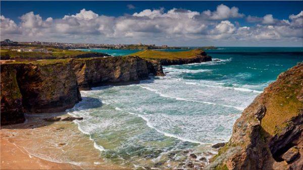 Porth Island - Cornwall Canvas