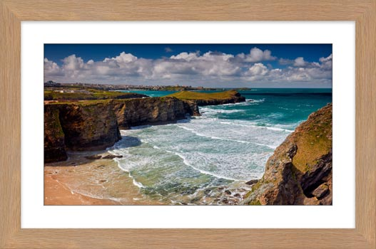 Porth Island - Framed Print with Mount