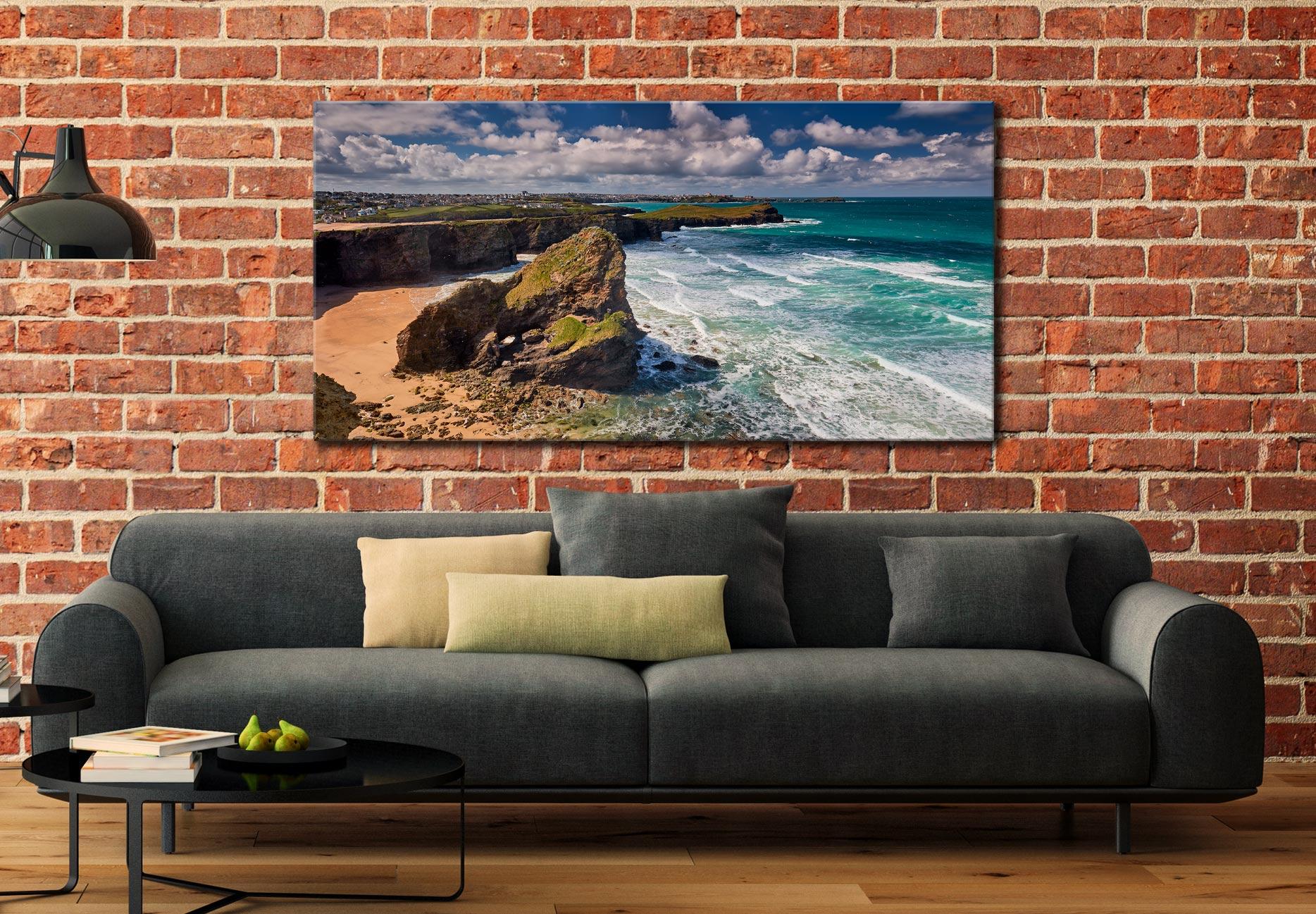 Black Humprey Rock - Canvas Print on Wall