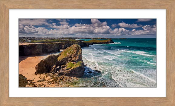 Black Humprey Rock - Framed Print with Mount