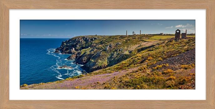 Botallack Bluebells - Framed Print with Mount