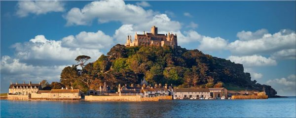 St Michaels Mount - Canvas Print
