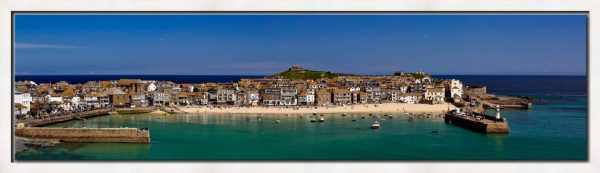 St Ives Harbour Panorama - Modern Print