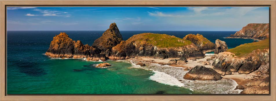 Kynance Cove Rock Stacks - Modern Print