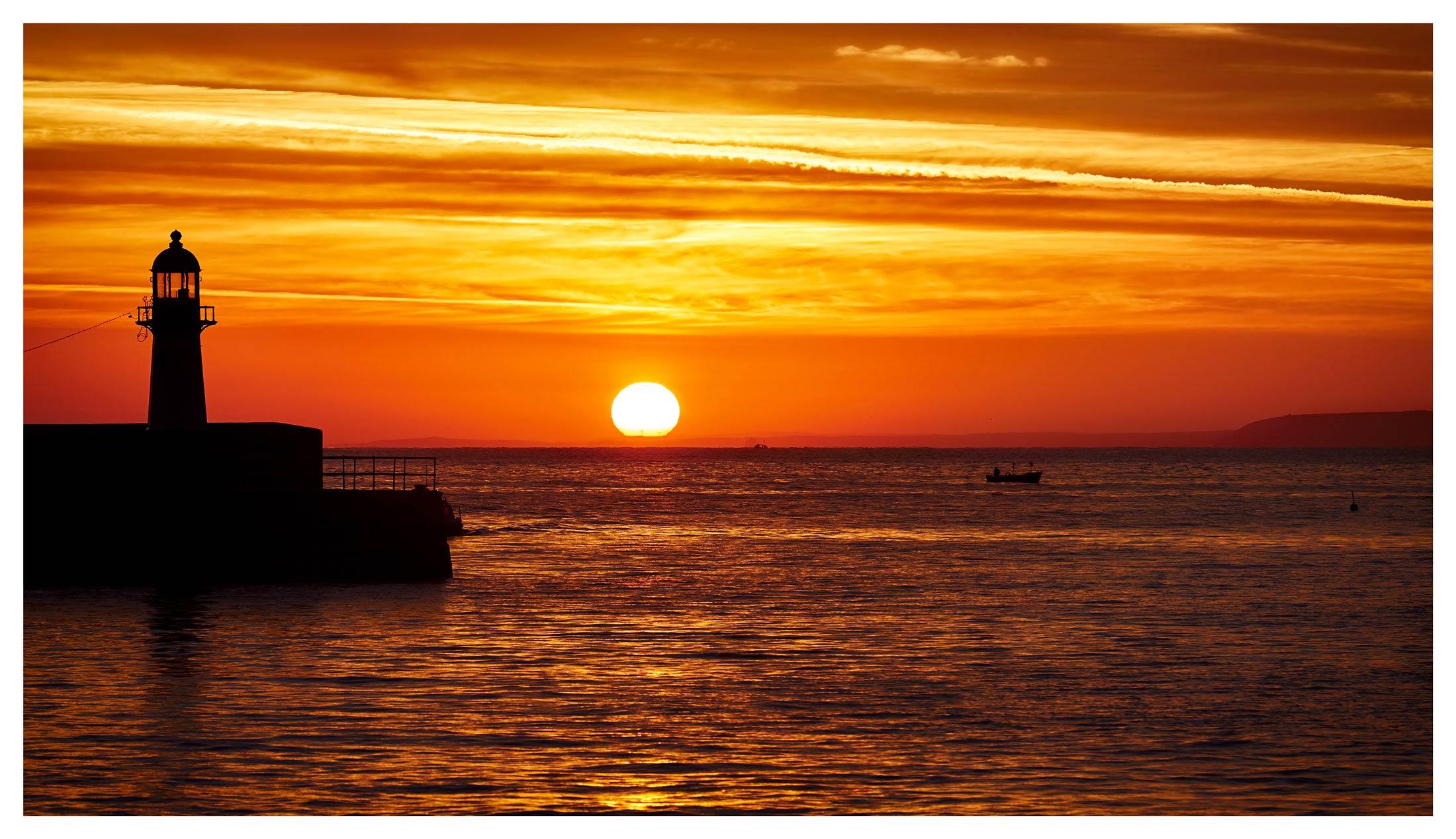 St Ives Harbour Sunrise - Cornwall Print