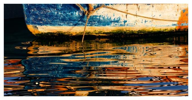 Dawn Harbour Colours - Cornwall Print