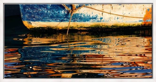 Dawn Harbour Colours - Modern Print