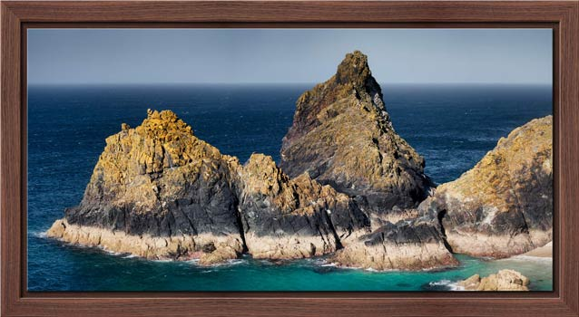The Bishop Rock at Kynance - Modern Print