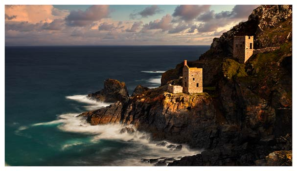 Botallack in the Sunshine - Cornwall Print