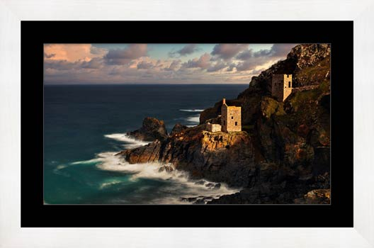 Botallack in the Sunshine - Framed Print with Mount