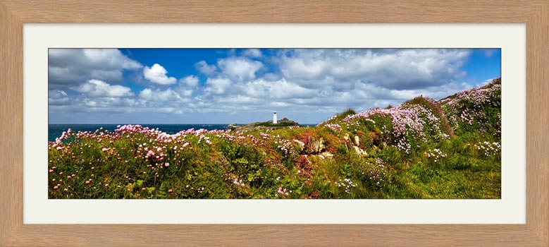 Wildflowers at Godrevy - Framed Print with Mount