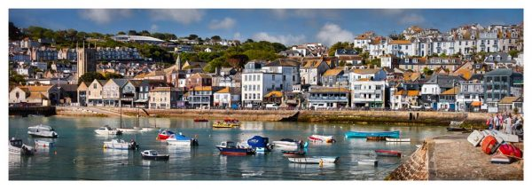 Wharf Road St Ives - Prints of Cornwall
