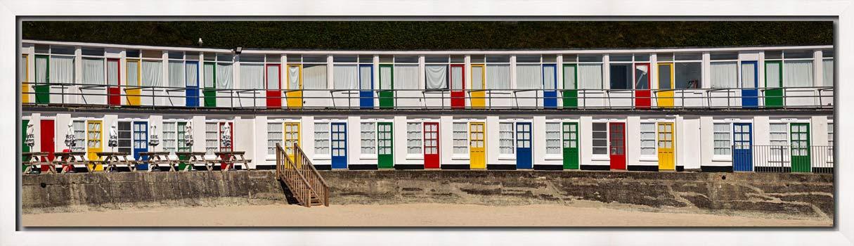 Porthgwidden Beach Chalets - Modern Print
