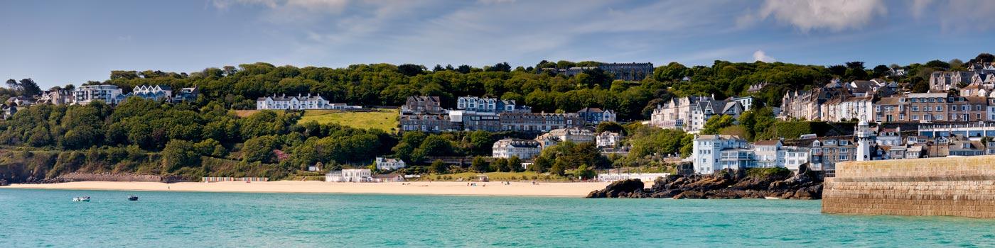 Porthminster Beach Panorama - Cornwall Print
