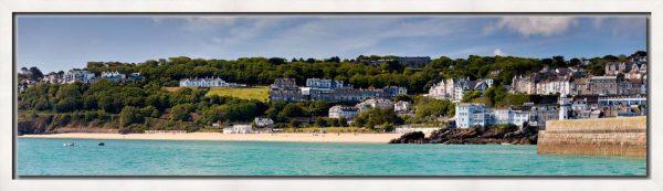 Porthminster Beach Panorama - Modern Print