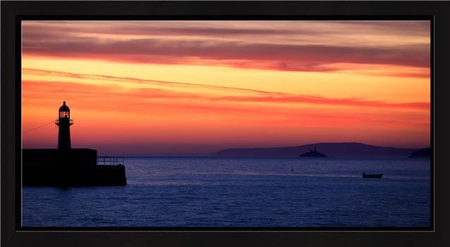 St Ives Beach Rocks - Modern Print