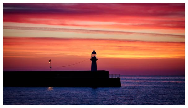 Lighthouse and the Lamp - Cornwall Print