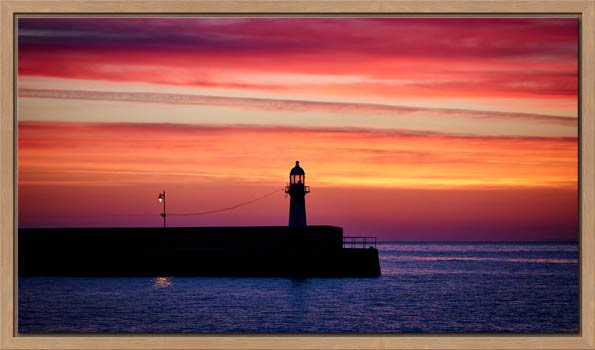 Lighthouse and the Lamp - Modern Print