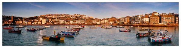 St Ives Harbour Morning Light - Cornwall Print