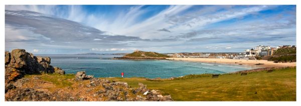 St Ives Bay Panorama - Prints of Cornwall