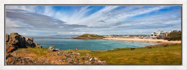 St Ives Bay Panorama - Modern Print