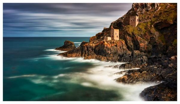 Botallack Mines in the Autumn Sunshine - Cornwall Print