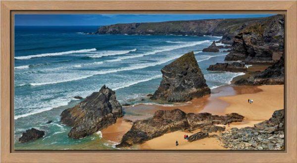 Bedruthan Steps Beach Rocks - Modern Print
