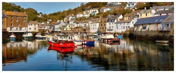 Polperro Harbour - Cornwall Print