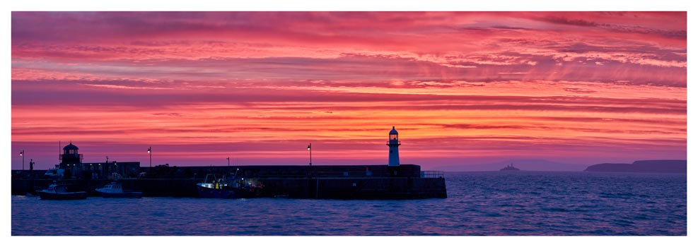 Approaching Dawn Over St Ives - Prints of Cornwall