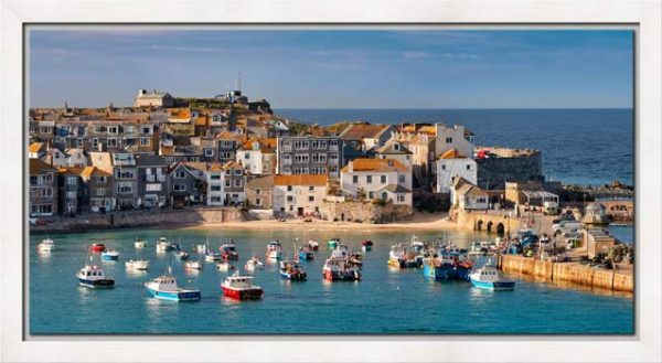 St Ives Harbour Beach - Modern Print