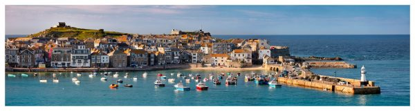 St Ives Harbour in Afternoon Sunshine - Cornwall Print
