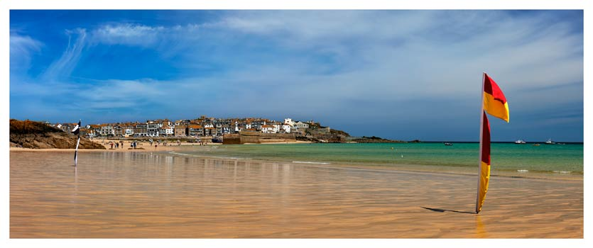 Porthminster Beach St Ives - Cornwall Print