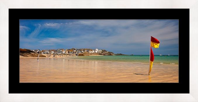 Porthminster Beach St Ives - Framed Print with Mount