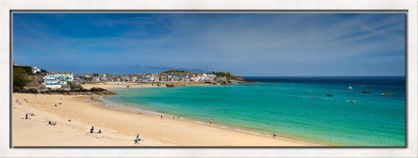 St Ives Bay Porthminster Beach - Modern Print