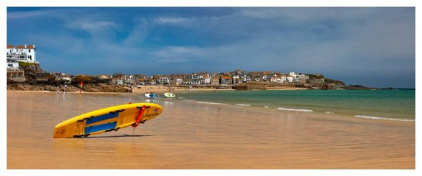 Lifeguard Porthminster Beach - Cornwall Print