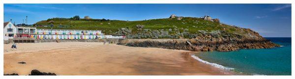 Porthgwidden Beach The Island - Cornwall Print
